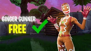 How to Get Ginger Gunner Fortnite for FREE! (works in game)