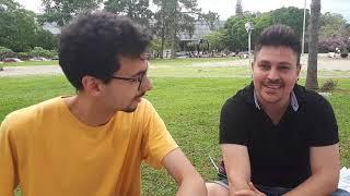 Tiago Galvão kaj Wilian Gomes, el São-Paulo (SP)