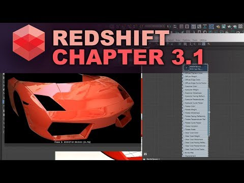 Redshift Render Car Paint Material In 3ds Max Tutorial. Part 1
