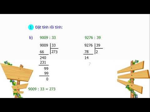 Tiết 74: Luyện tập chia cho số có hai chữ số (SGK Toán 4 tr83)
