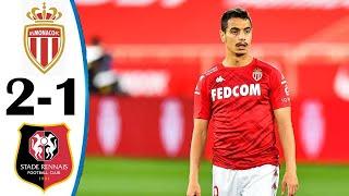 Монако Ренн 2 1 Обзор Матча Чемпионата Франции 16 05 2021 HD