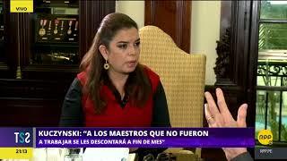 Milagros Leiva entrevista en exclusiva al presidente de la República Pedro Pablo Kuczynski