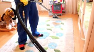 видео чистка ковров спб