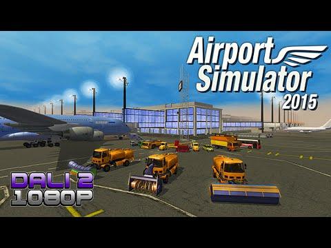 Airport Simulator 2015 PC Gameplay 60 fps 1080p
