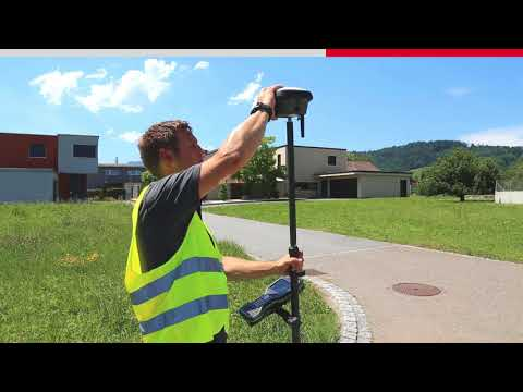 How To Use The Leica GS18 T GNSS RTK Rover