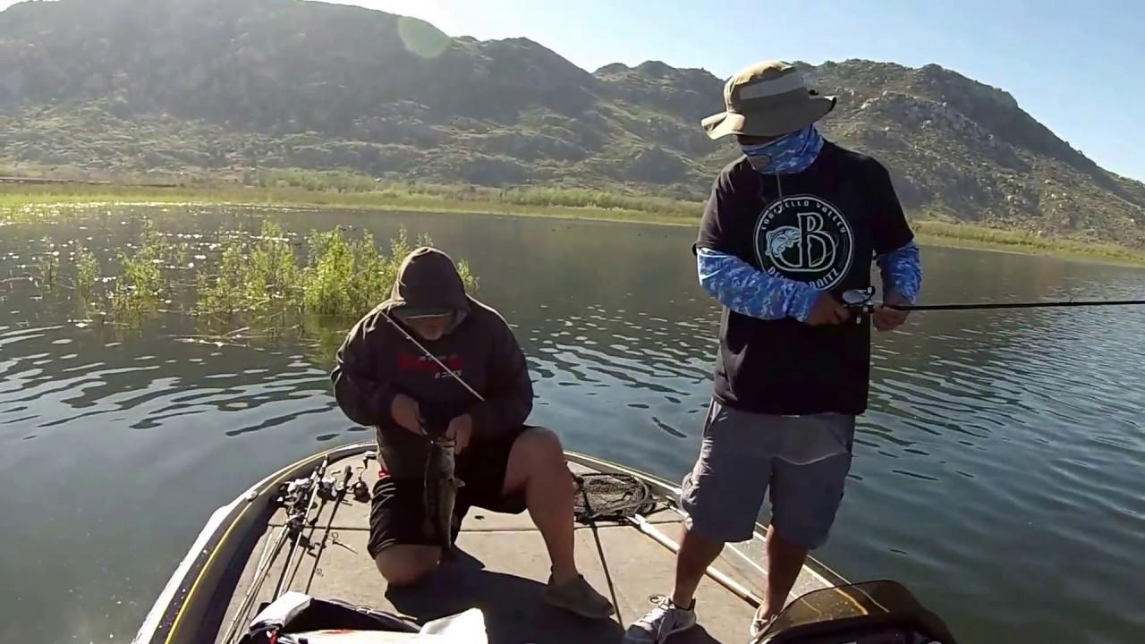 Lake perris bass fishing youtube for Lake perris fishing report