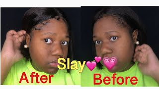 How I slay my wigs to look natural FT VIPBeauty hair