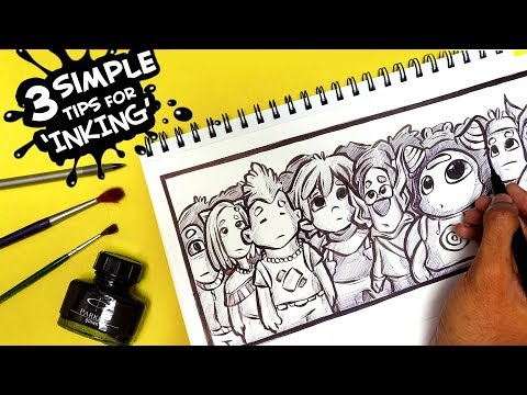 HOW I INK! - My 3 'Simple' Tips