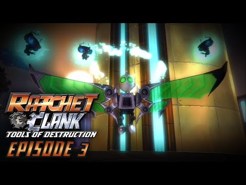 Ratchet & Clank: Tools of Destruction Walkthrough - ROBO-WINGS - Episode 3