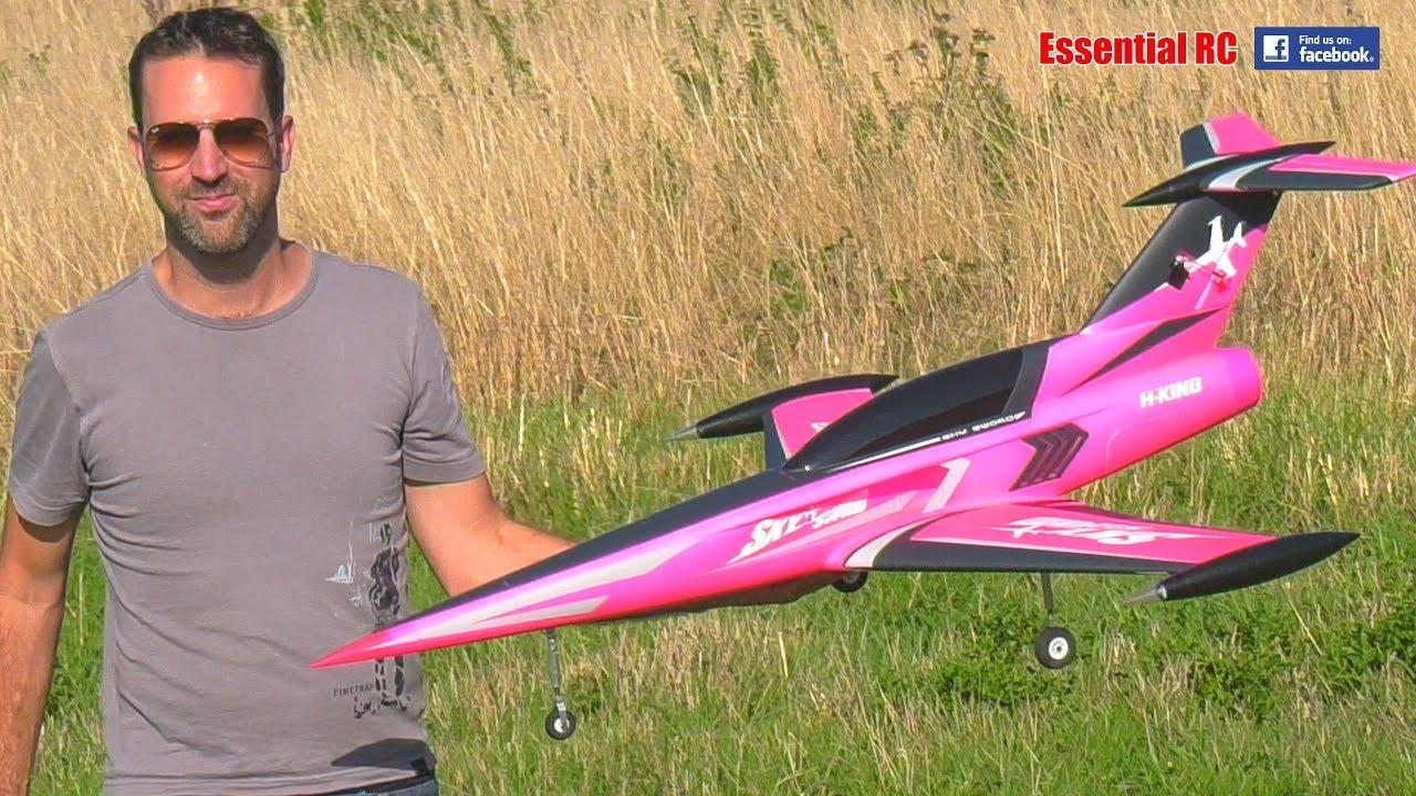 HobbyKing SkySword 70mm EDF Sport Jet: JAMES' MAIDEN FLIGHT