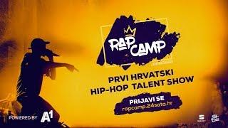 Prijavi se na hip-hop talent show! | RAP CAMP