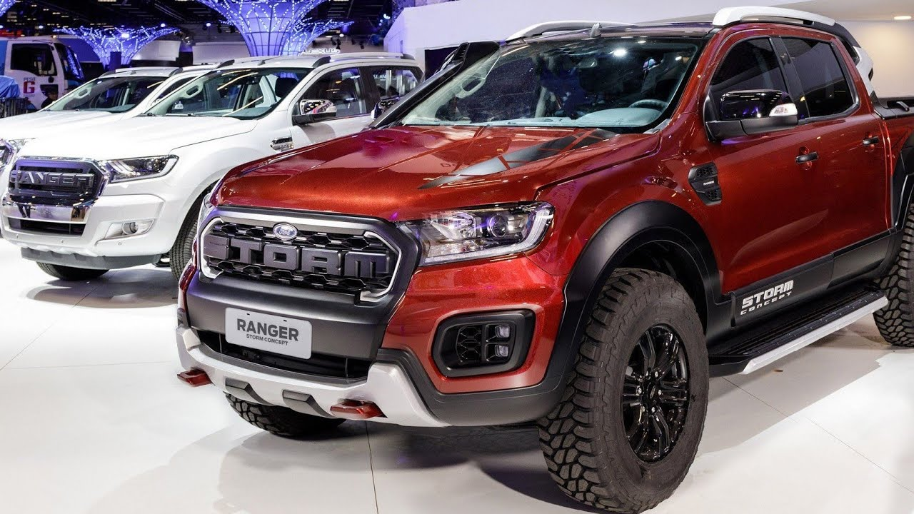2019 ford ranger storm concept - first look