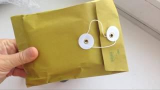 Розпакування посилок з Алиэкспресс LED лампа і пилки для нігтів