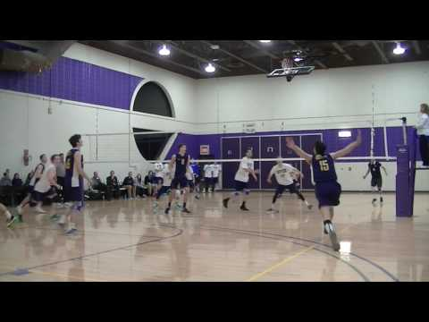 UCSC vs Rivier Mens Volleyball 20170204