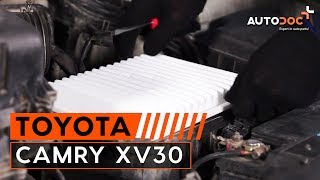 Kaip pakeisti variklio oro filtras Toyota Camry XV30 PAMOKA | AUTODOC