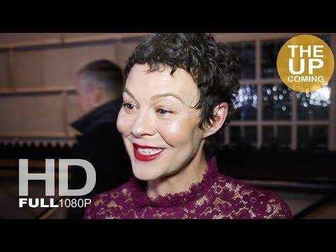 Helen McCrory interview at London Film Festival Awards 2017