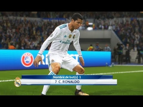 [HD] Ronaldo vs FC Barcelona - Gameplay PES 2018 Solo Superstar