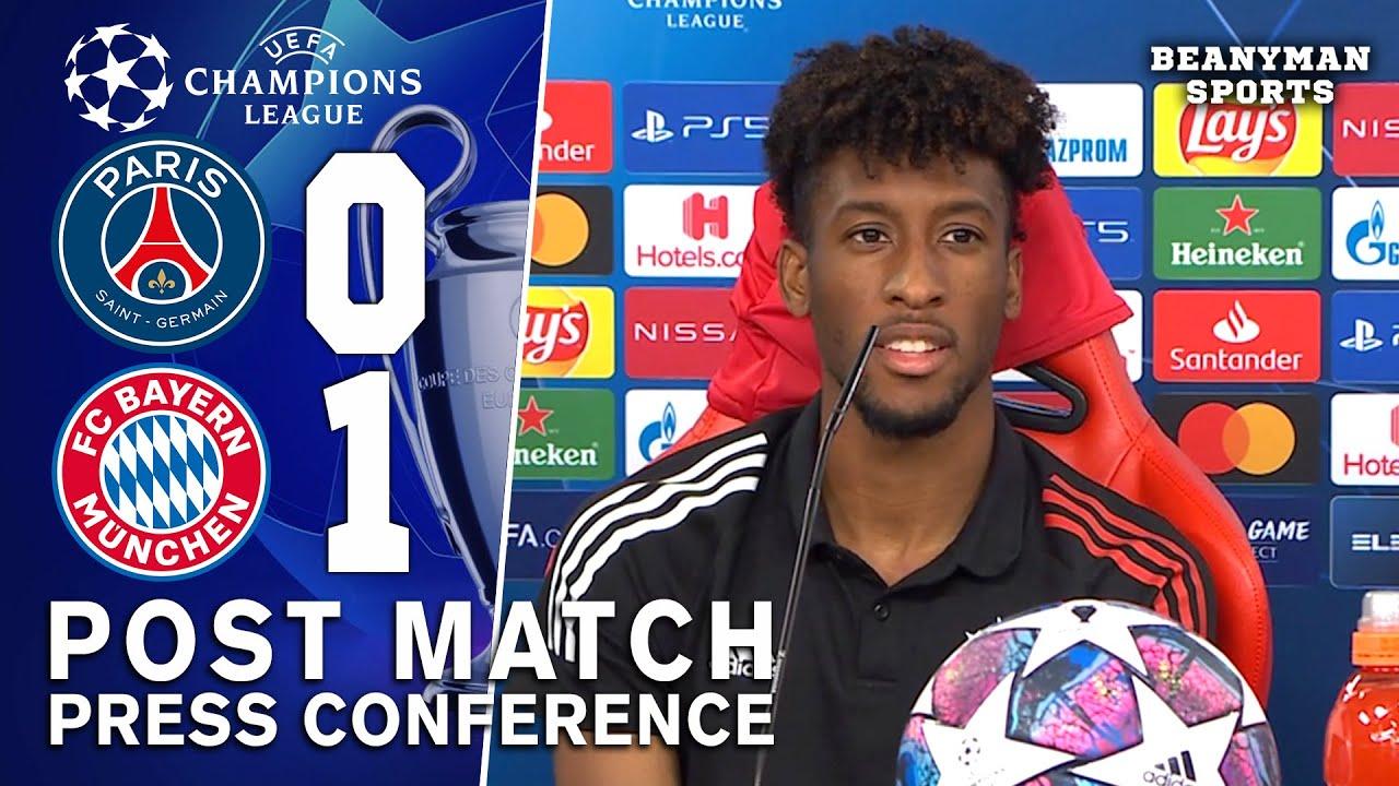 Download PSG 0-1 Bayern Munich - Kingsley Coman - MOTM Post Match Press Conference - Champions League Final