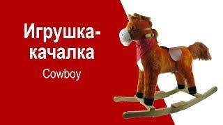 Игрушка-качалка Cowboy 82466 - видео обзор
