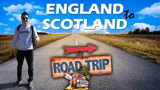Manchester to Glasgow Scotland | Road Trip in UK | Europe Trip EP-10