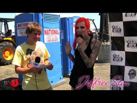 Jeffree Star Interview at Warped Tour '09 - BVTV
