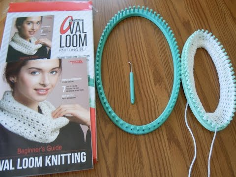Review of Leisure Arts Ultimate Oval Loom Knitting Set  - Knitting Looms for Beginners