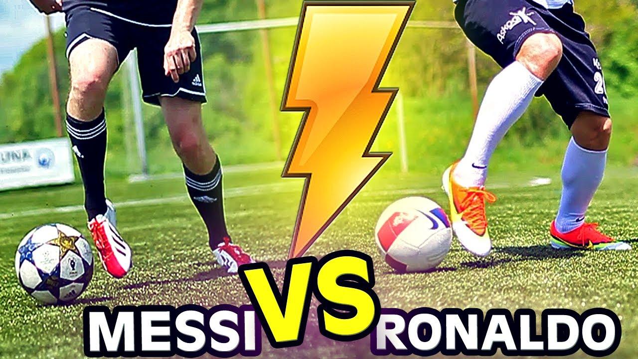 32ff6979f45d Ronaldo vs. Messi Boots  Mercurial Vapor 9 vs. F50 adiZero