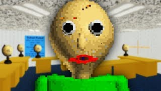 SPANKED BY TEACHER | Baldi's Basics