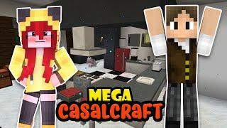 NOSSA MANSÃO ESTÁ FICANDO LINDA!! | MEGA CASALCRAFT #24 thumbnail