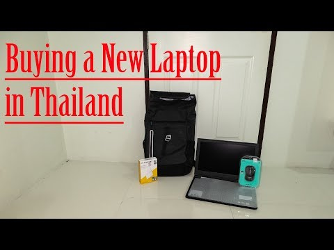 I Bought a DELL Laptop Computer in Pattaya, Thailand