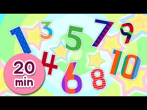 수동요 모음 ♪ 20분 | 1-10 숫자송 | 율동동요 |