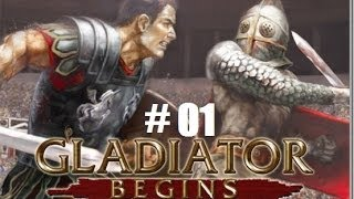 Colosseum Road to Freedom part 01: GLADIATOR!!!!