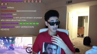 Diss God Full Stream (January 15th 2018) Calls a Baddie And Goes Live On YouNow