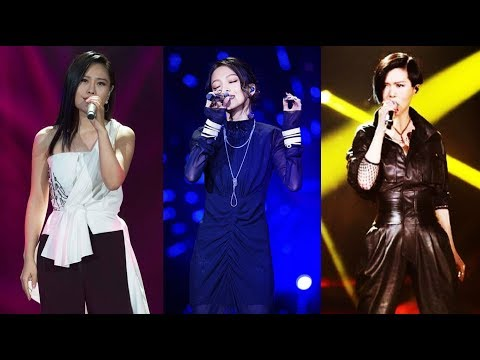 My Top 10 female performances from Singer/I am a Singer China 歌手- (5-1) (Eng subs)