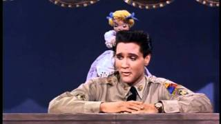 Elvis Presley - Wooden Heart (GI Blues 1960).avi