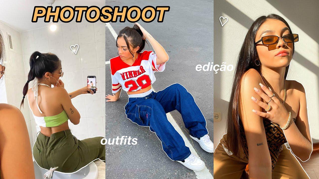 COMO EU TIRO MINHAS FOTOS DO INSTAGRAM!    dicas de edição & outfits