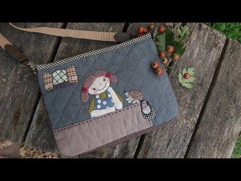 퀼트가방 크로스백 만들기 │ Patchwork Quilted Bag │ How To  Make DIY Crafts Tutorial