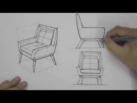 Armchair   Industrial & Product Design Sketching