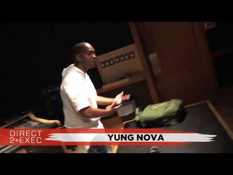 Yung Nova Performs at Direct 2 Exec Los Angeles 9/12/17 - Atlantic Records