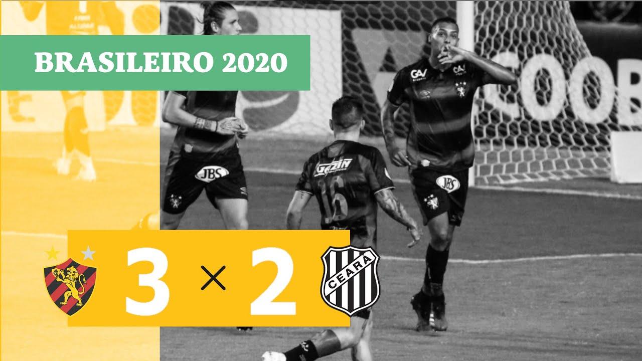Спорт Ресифи  3-2  Сеара видео