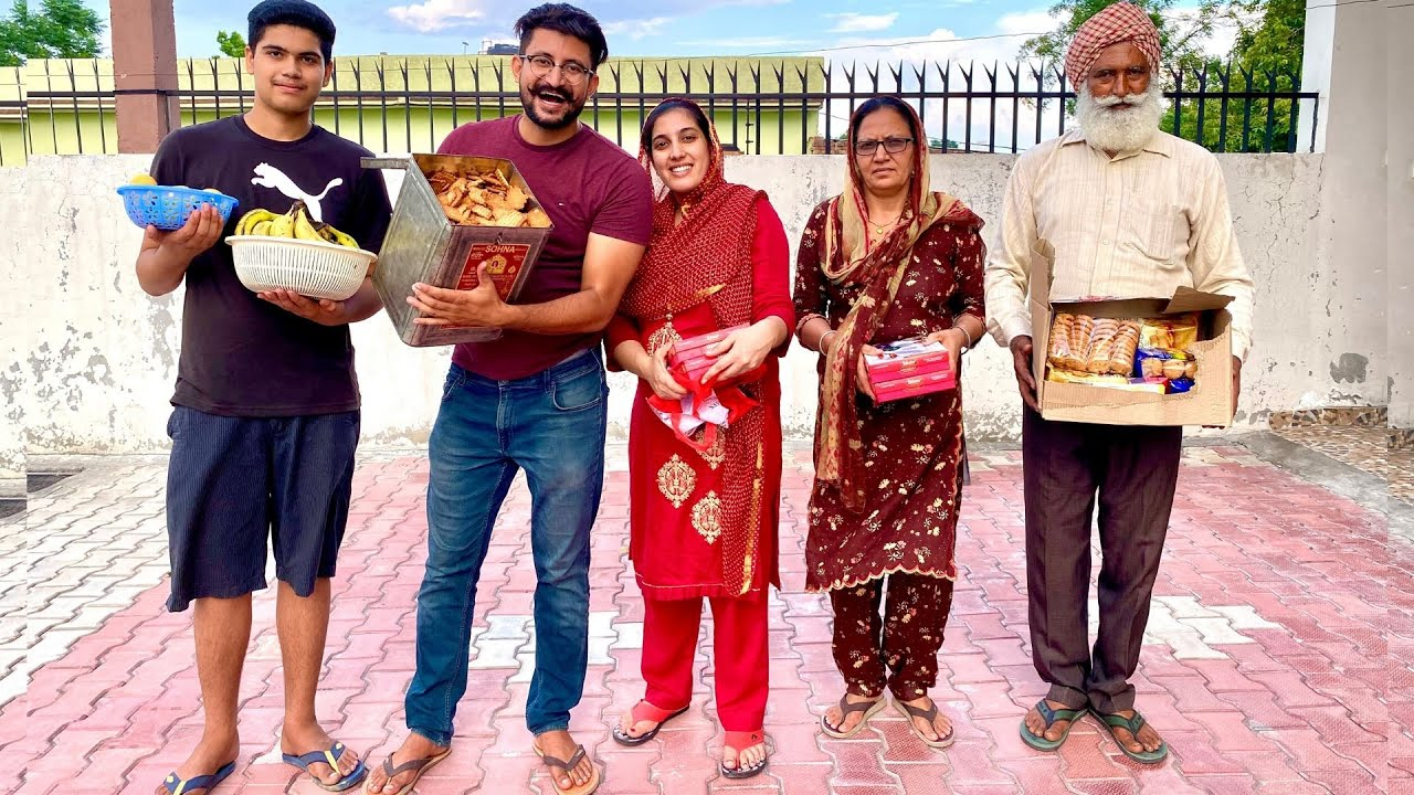Sharan da Sandhara | ਜਦੋਂ ਪੇਕੇ ਪਹੁੰਚੇ ਸਹੁਰੇ ਘਰ | ਭੈਣ ਦਾ ਸੰਧਾਰਾ | My Wife's Family Visits Our Home