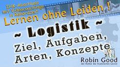 Logistik - Ziel, Aufgaben, Arten, Konzepte