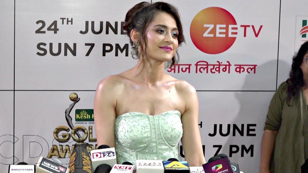 Sanjeeda Sheikh At Zee Gold Awards 2018 - YouTube