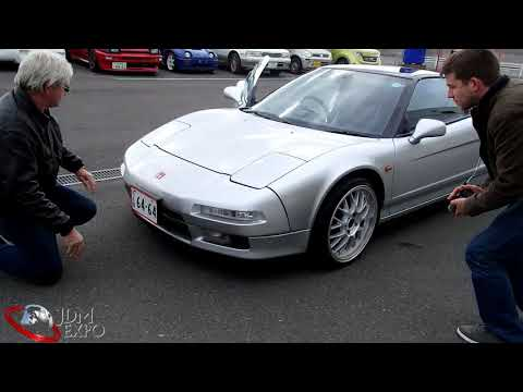 Honda NSX. Customers` Personal Inspection at JDM EXPO