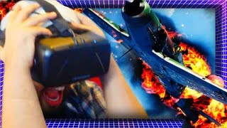 Die In A Plane Crash In VIRTUAL REALITY! | Oculus Rift DK2 Gameplay