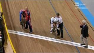 Hoy vs  Forstemann sprint world championships 2011 quarterfinal p.2
