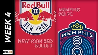New York Red Bulls II vs. Memphis 901 FC: March 29th, 2019