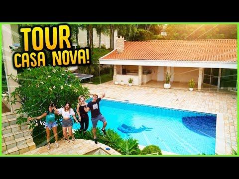 TOUR PELA CASA NOVA!! ( MANSÃO DO CANAL ) [ REZENDE EVIL ]