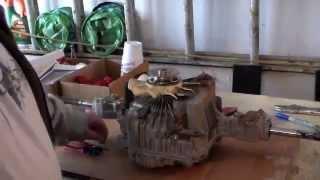 hydro transmission k46 12 year old riding mower study