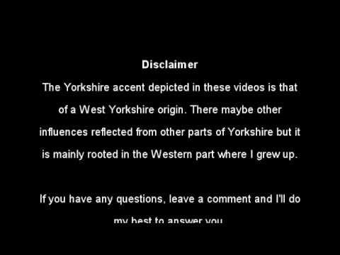 CR - Yorkshire Lessons pt2 - Glottal Stops